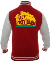ALS TOY BARN VARSITY - INSPIRED BY TOY STORY WOODY BUZZ LIGHTYEAR